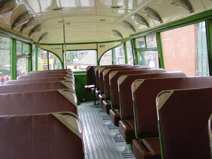 Merseyside Tramway Preservation Society Liverpool No 869